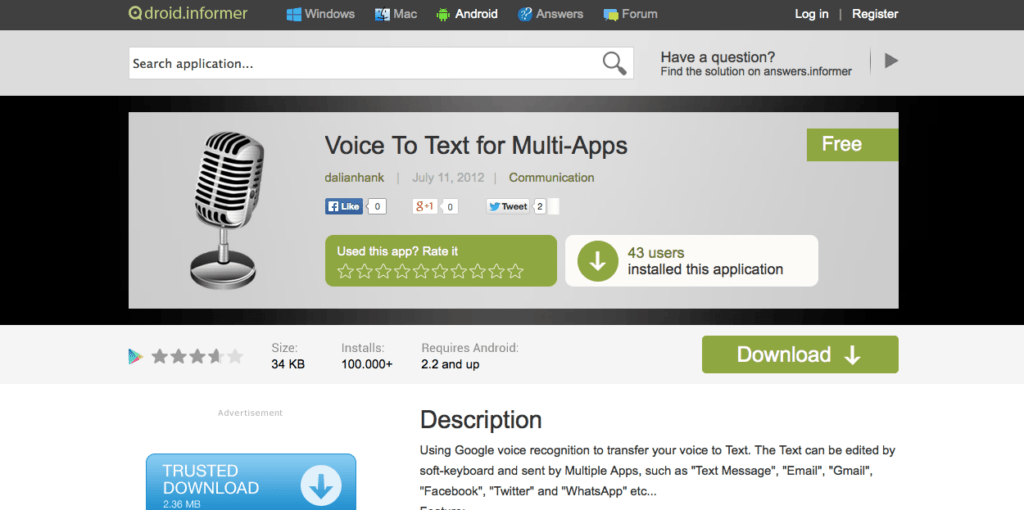 Voice to Text Multi-App