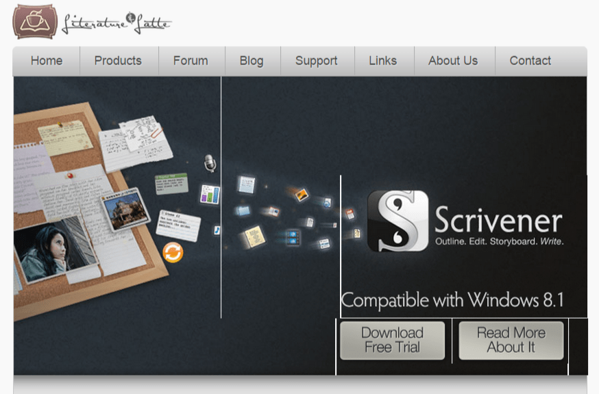 Literature and Latte   Scrivener Writing Software