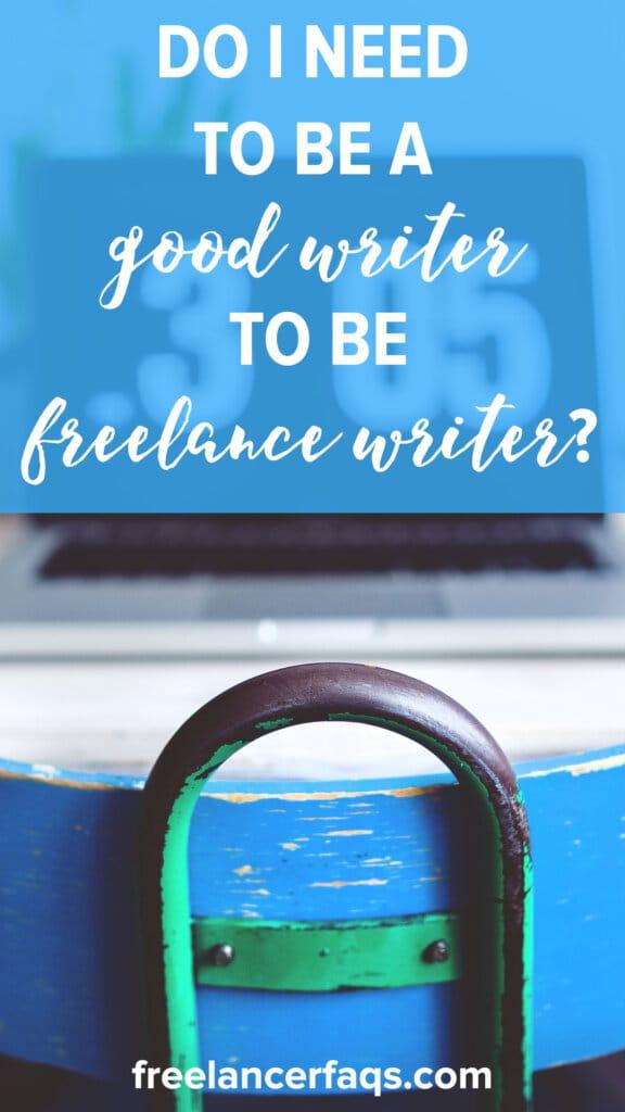 Need a writer