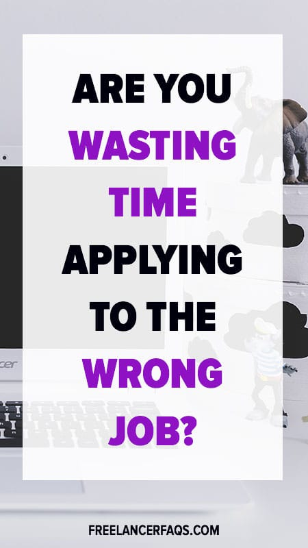 Are You Wasting Time Applying to the Wrong Job?