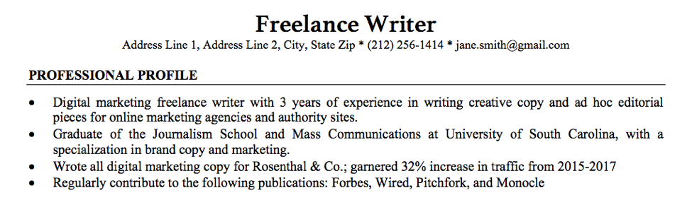 Do Freelance Writers Really Need Resumes Freelancer FAQs