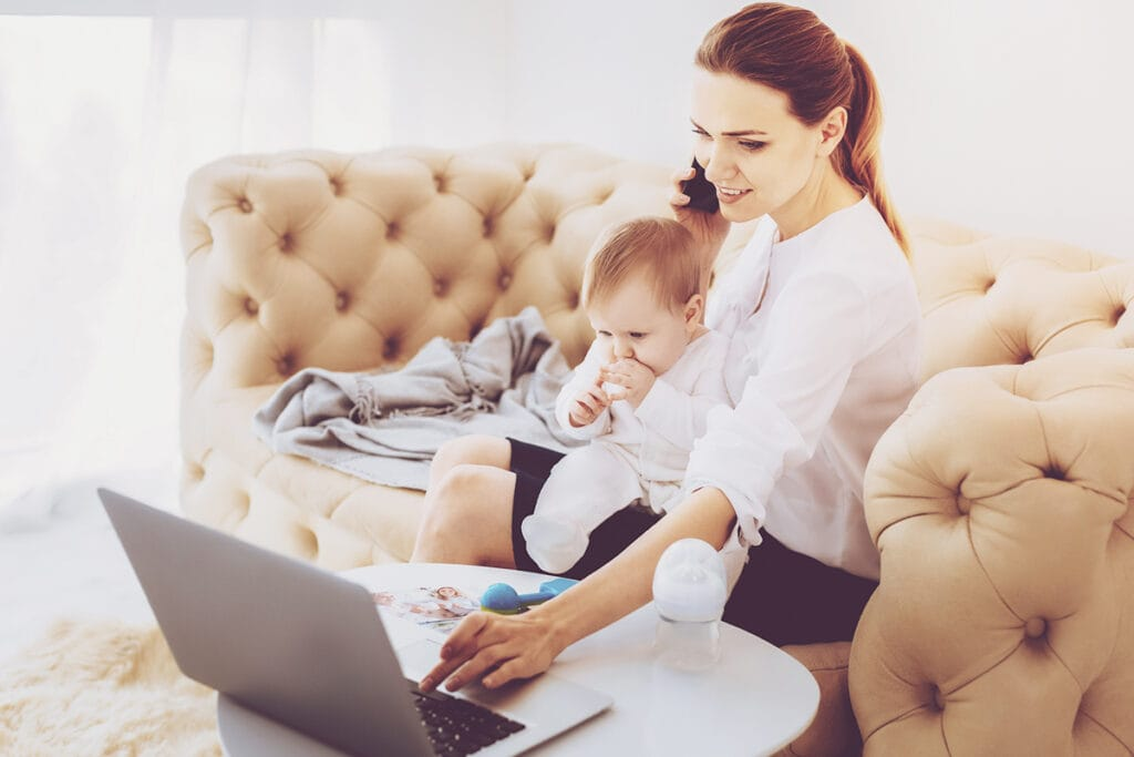 How Can I Be More Productive As a Work at Home Mom Of Toddlers?